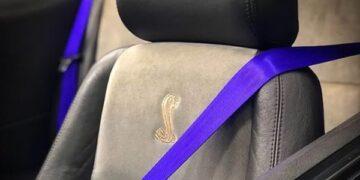 Замена ленты ремня безопасности (цветные ленты ремня безопасности)